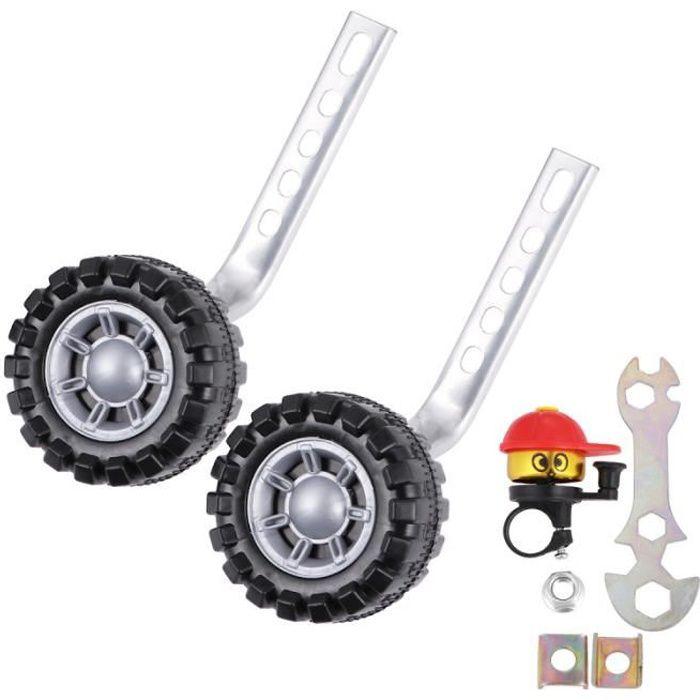 1 jeu de roues stabilisatrices pratiques d'entraînement pour enfants VELO ASSISTANCE ELECTRIQUE