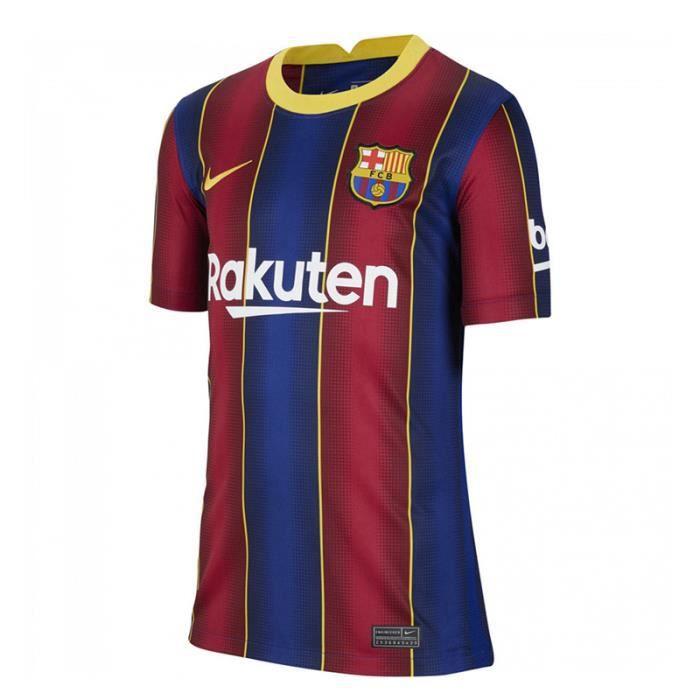 Maillot Barca Barcelona - 2020-2021 Maillot de Football Home Jersey - Rouge