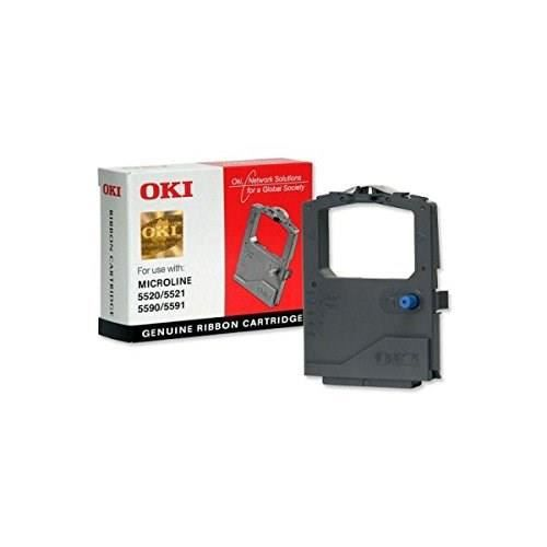 OKI Ruban d'impression 1126301 - Compatible 5520/5521/5590/5591 - Noir