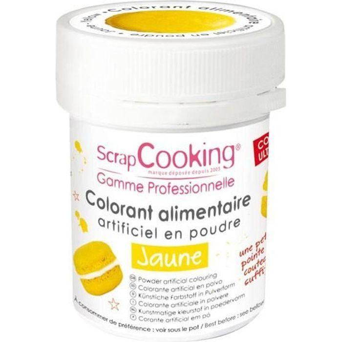 Colorant alimentaire Jaune