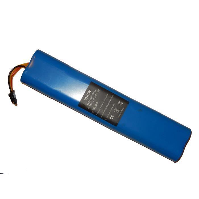 Compatible avec Neato BotVac 70, 70e, 75, 80, 85 - Remplace les modèles de batterie suivants: 025-0012 - Technologie: Ni-MH - Cap…