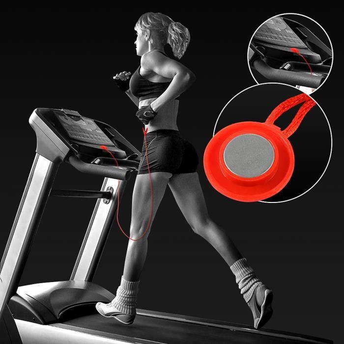 Clé de Sécurité de Machine de Course Tapis de Course Fitness Sécurité Magnétique RU