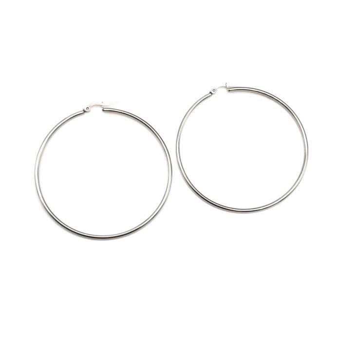 Quartz Rose Ronde avec Corde Style Accents Argent Sterling 925 Boucles D/'oreilles Clou