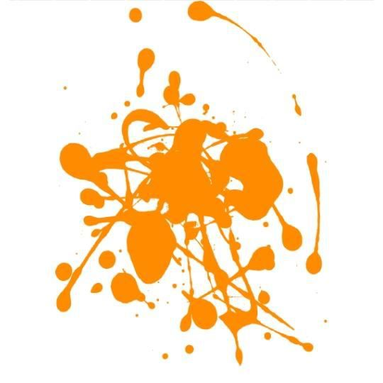 D coration peinture cuisine jaune orange colombes 23 for Peinture orange castorama