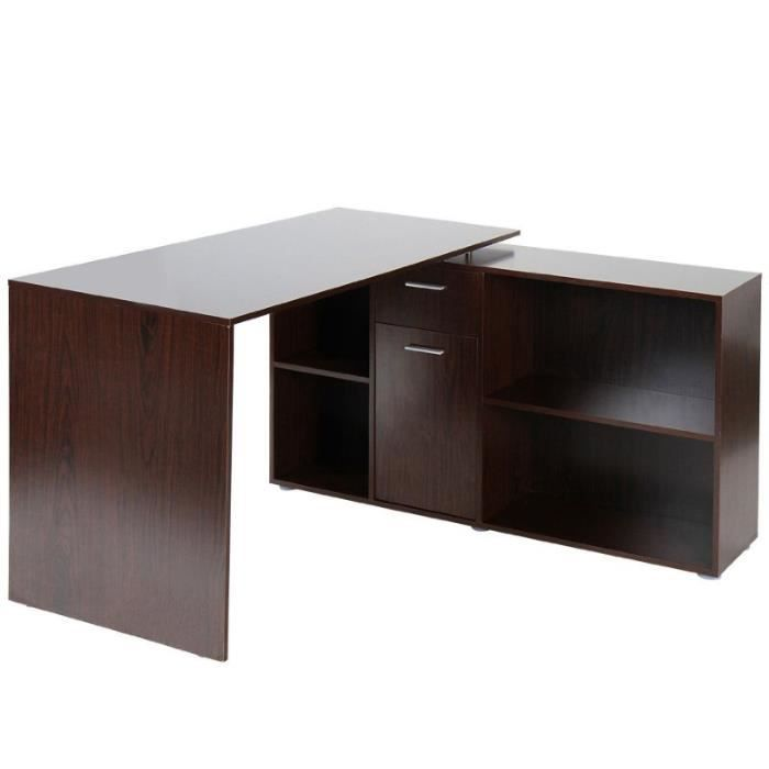 bureau d 39 angle informatique 0501012. Black Bedroom Furniture Sets. Home Design Ideas