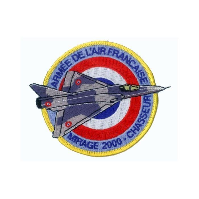 Patch écusson Mirage 2000 Armée de l'Air Française NEUF