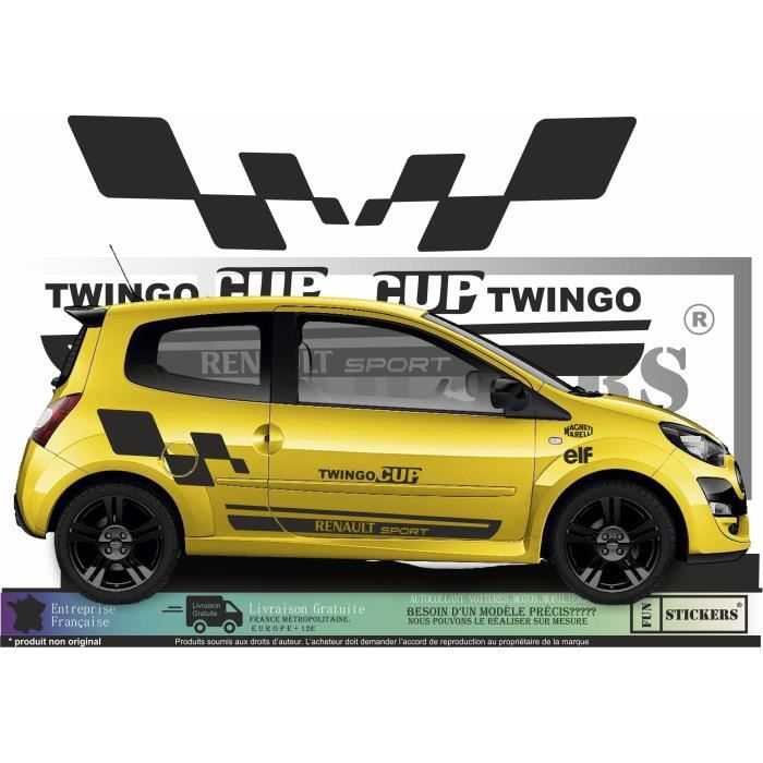 Kit Stickers Renault Twingo émotion Ref 120 Racing Tuning Autocollant Sport Home Garden Universitasfundacion Décor Decals Stickers Vinyl Art