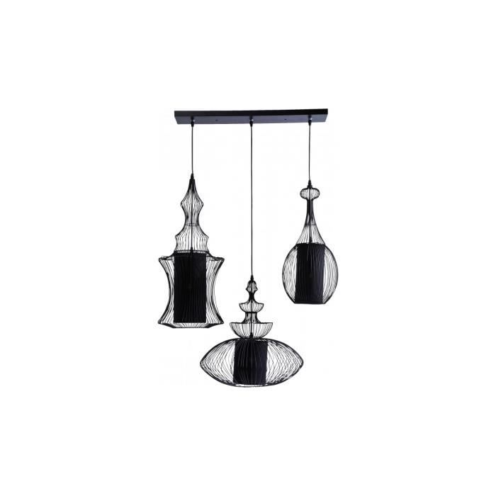 Swing iron by kare suspension triple achat vente swing for Lustre suspension triple