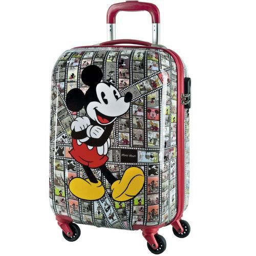 valise cabine mickey mouse 55cm pellicules film achat. Black Bedroom Furniture Sets. Home Design Ideas