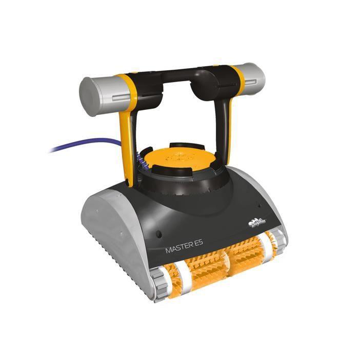 ROBOT DE NETTOYAGE  Robot de piscine électrique Master E5 + Chariot -