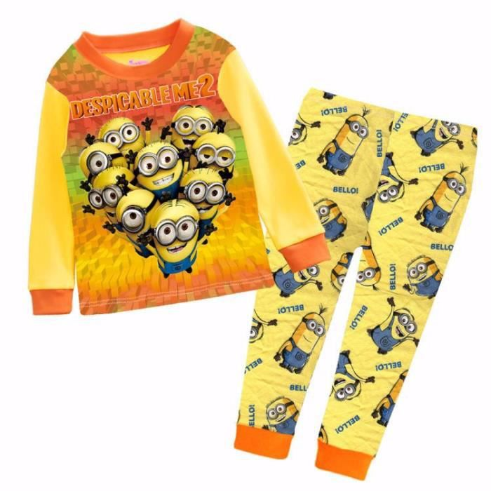 pyjama les minions 100 coton 2 ans achat vente. Black Bedroom Furniture Sets. Home Design Ideas