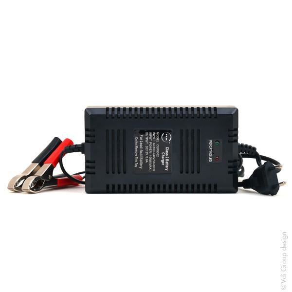 BATTERIE VÉHICULE Chargeur plomb 12V/6A 110-230V NX (Intelligent)