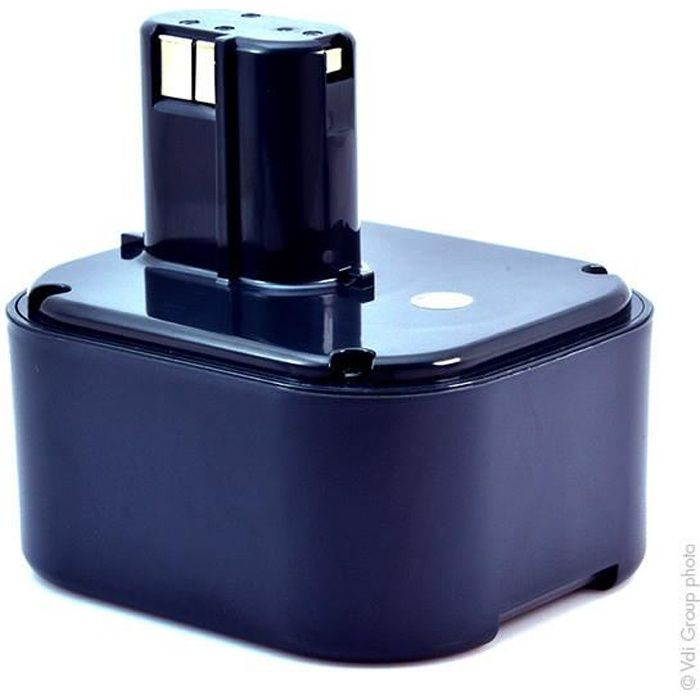 Batterie pour Hitachi Marteau Perforateur DH20DV NiMH 24V 2000mAh//48Wh NiMH Noir