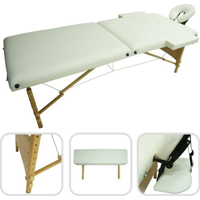 Table de massage pliable avec poign e de transp achat vente table de m - Table massage pliable ...