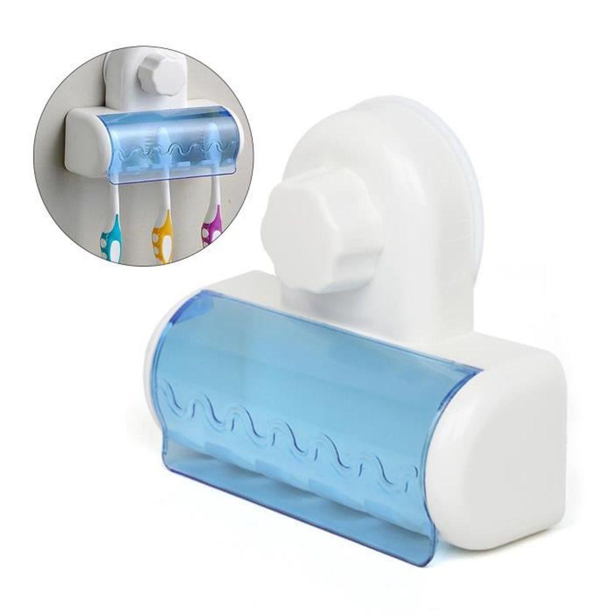 BROSSE A DENTS PULSEUR 5 racks d'aspiration Porte-brosse à dents anti-pou