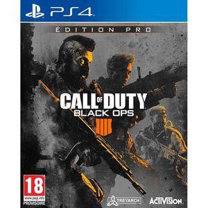 JEU PS4 Call Of Duty Black Ops 4 Pro Édition Jeu PS4