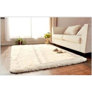 TAPIS Tapis de salon ou chambre Imitation mouton Anti-dé