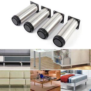 PIED DE MEUBLE 2windeal® 4pcs Pieds de meuble Hauteur 200mm Suppo