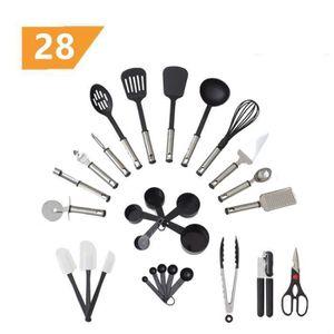 RANGE USTENSILES Set de cuisine 28 pièces - Accessoires de cuisine,