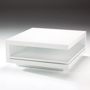 Table basse Table caree caree blanche Table blanche basse QrCeWdxBo