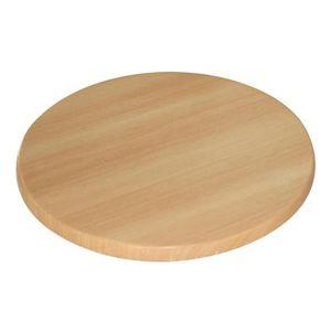 TABLE À MANGER SEULE Ronde Boléro table Hêtre 600mm