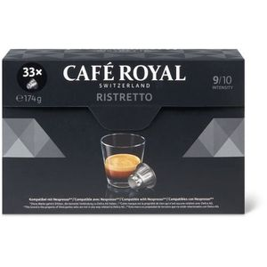 CAFÉ CAFE ROYAL Ristretto Nespresso - 33 Capsules