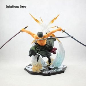 FIGURINE - PERSONNAGE Figurine One Piece POP Roronoa Zoro 17cm