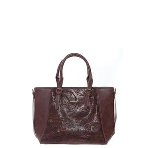 SAC SHOPPING Sac LILI PETROL Palissandre PA31 BY LITTLE MARCEL