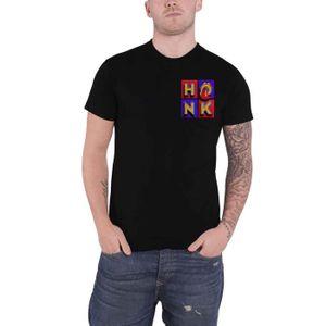 The Rolling Stones T Shirt Honk Letters Band Logo Nouveau Officiel Homme