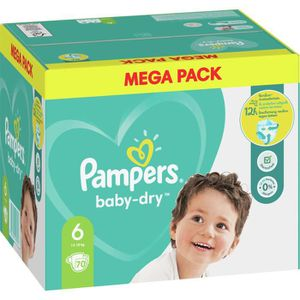 COUCHE Pampers Baby-Dry Taille6, 70Couches