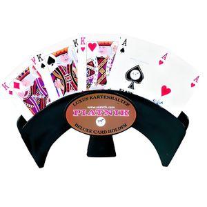CARTES DE JEU Porte cartes à jouer de Luxe