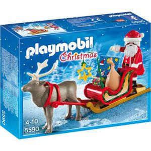 UNIVERS MINIATURE PLAYMOBIL - 5590 - Père Noël avec Traîneau