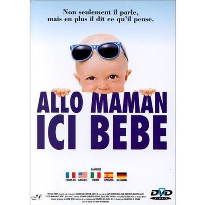 dvd allo maman ici bebe en dvd film pas cher heckerling amy cdiscount. Black Bedroom Furniture Sets. Home Design Ideas