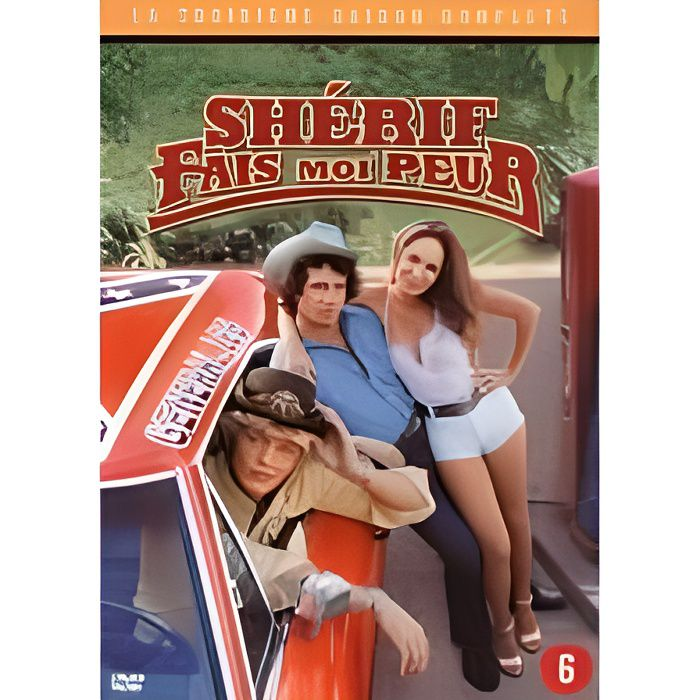 dvd sherif fais moi peur saison 3 en dvd s rie pas cher catherine bach denver pyle james. Black Bedroom Furniture Sets. Home Design Ideas