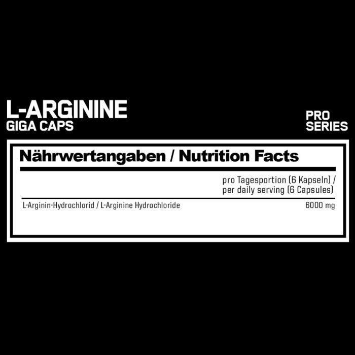 Esn L-Arginine Giga Caps Standard 300