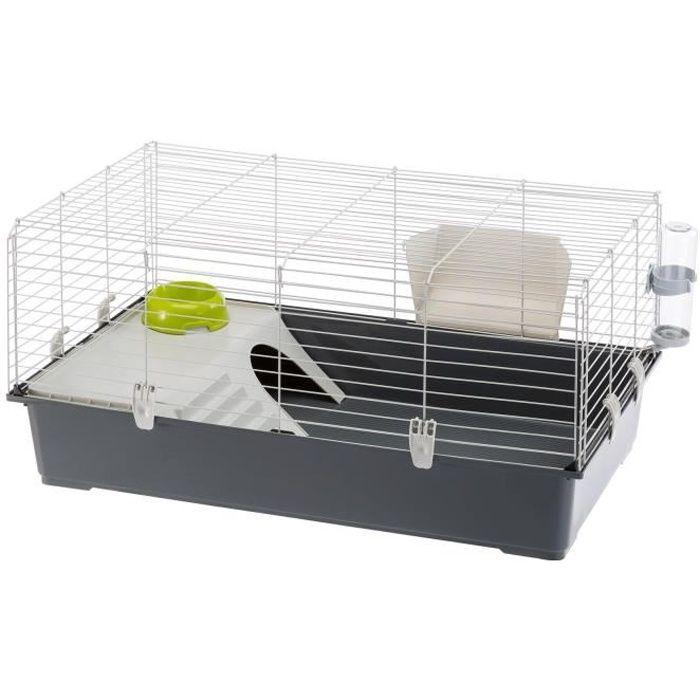 FERPLAST Cage pour lapins Rabbit 100 95 x 57 x 46 cm