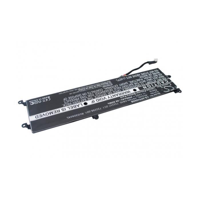 Batterie 11.1V 4.5Ah LiPo RV03XL pour HP ENVY Rove AIO 20