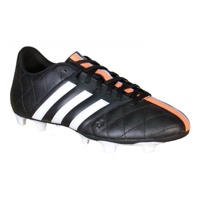 Adidas - Adidas 11 Questra FG Leather Chaussures de football Noir Cuir B34124