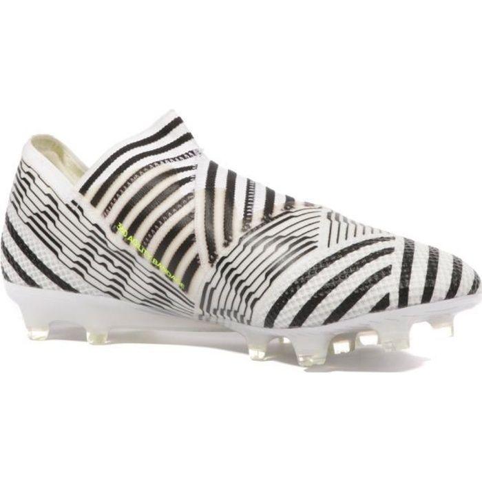 Nemeziz 17+ 360 Agility FG Homme Chaussures Football Noir Blanc Adidas