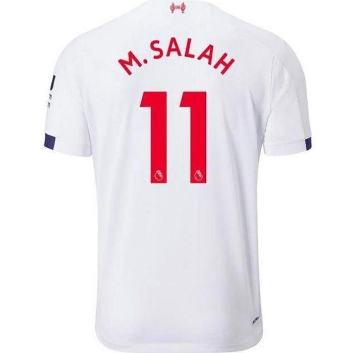 Nouveau Maillot Enfant New Balance FC Liverpool Away Saison 2019-2020 Numéro 11 M. SALAH