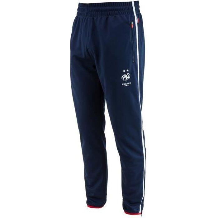 Pantalon training fit FFF - Collection officielle Equipe de France de Football - Enfant