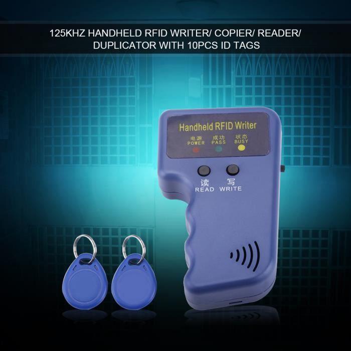 Ensemble de lecteurs RFID de haute qualité graveur portable de copieur pour le bureau d'écriture de BADGE RFID - CARTE RFID CYA0236