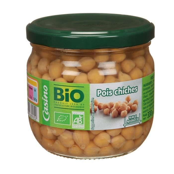 CASINO BIO Pois Chiche Bio - 300g