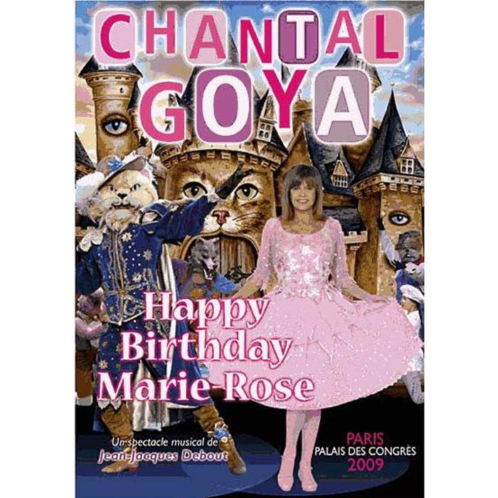 Happy Birthday Marie Rose Achat Cd Cd Variete Francaise Pas Cher