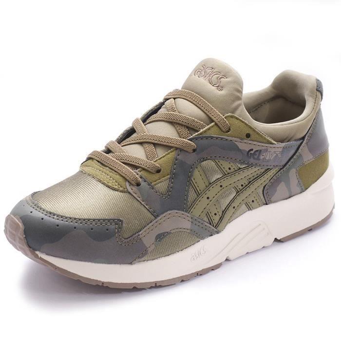 BASKET MULTISPORT Chaussures Gel-Lyte V PS Vert Garçon Asics