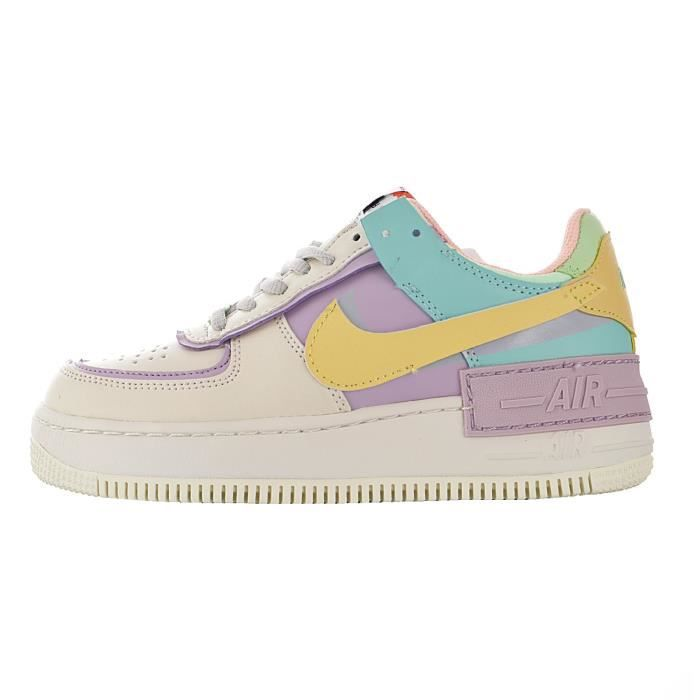Baskets Air Force 1 Shadow Femme Voilet Voilet - Cdiscount Chaussures