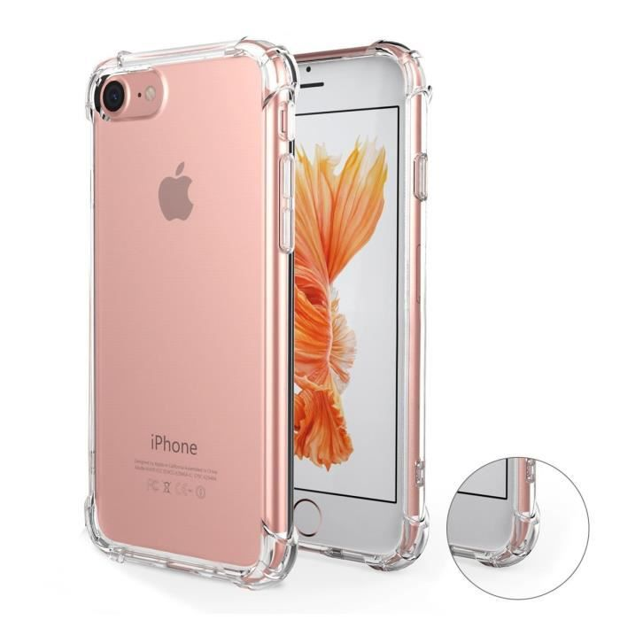 coque iphone 7 transparent