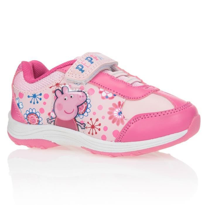 BASKET PEPPA PIG Baskets Chaussures Enfant Fille