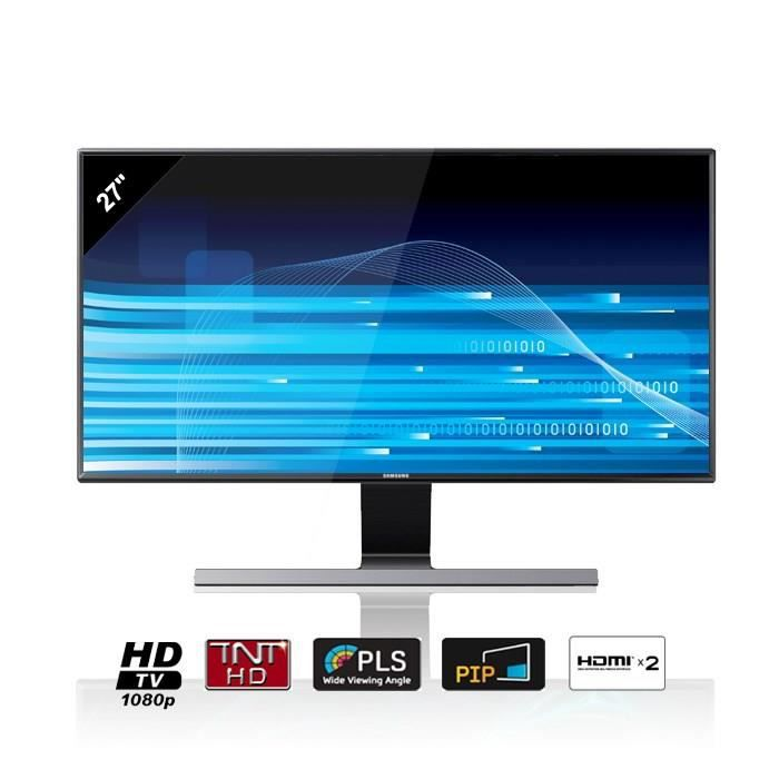 samsung t27d590 moniteur tv hd 68 cm achat vente. Black Bedroom Furniture Sets. Home Design Ideas