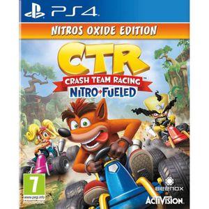 JEU PS4 Crash Team Racing Nitro Fueled - Édition Nitros Ox